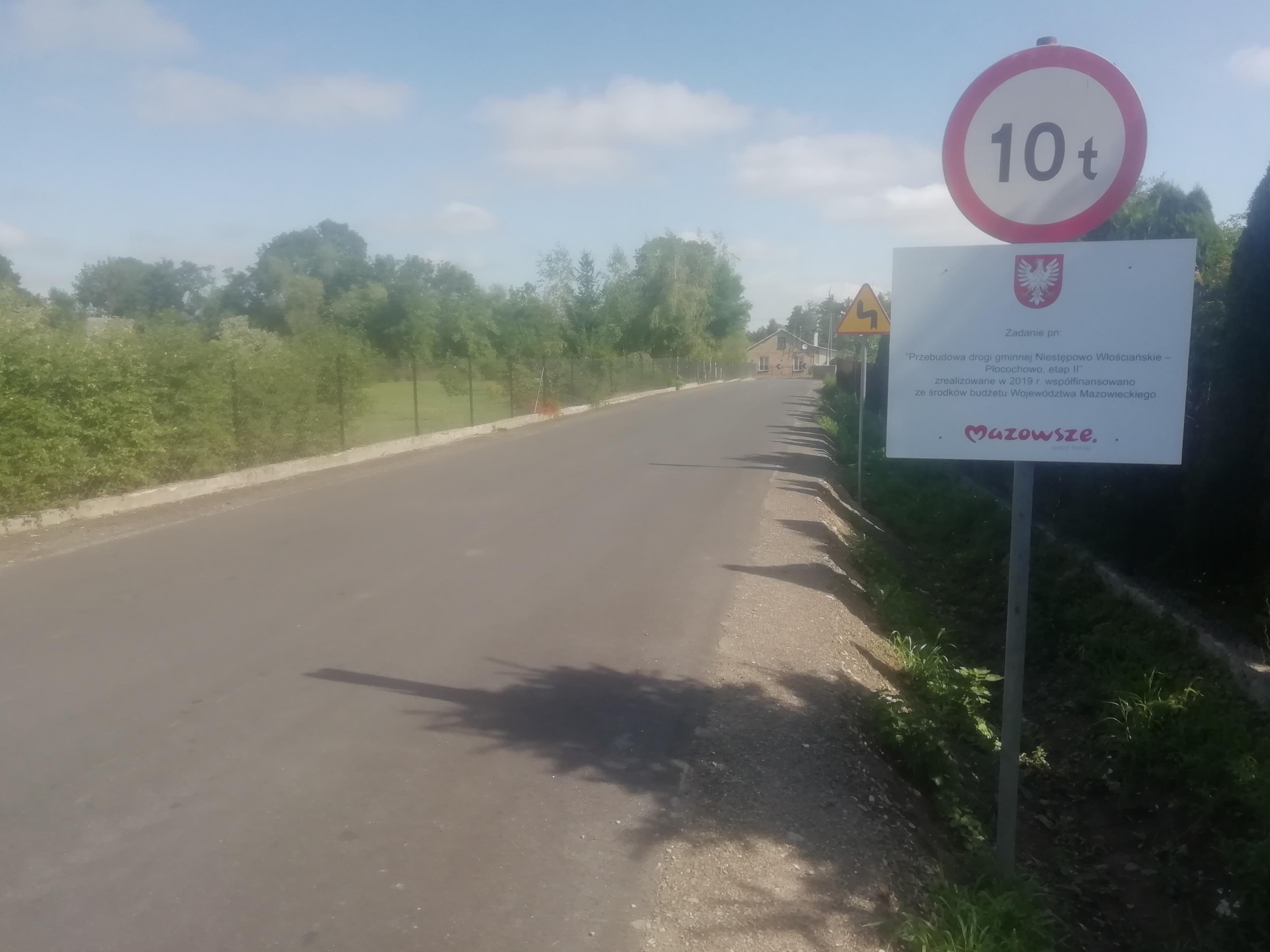 Nowa droga w gminie Pokrzywnica