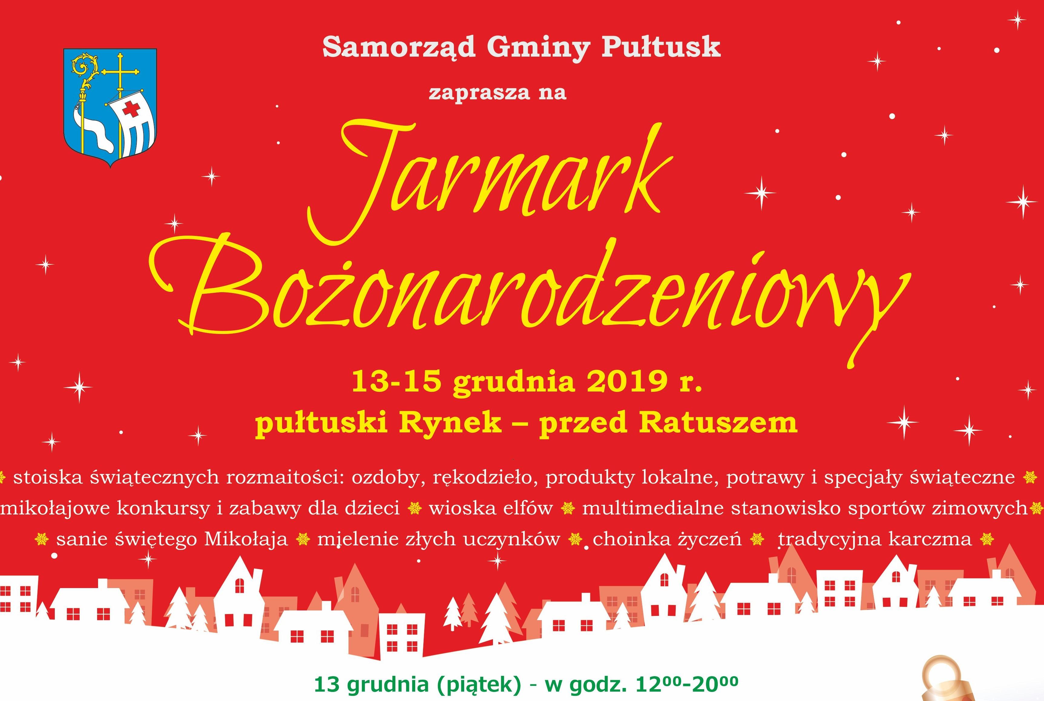 Jarmark Bożonarodzeniowy w Pułtusku