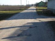 Droga Łępice – stan przed przebudową