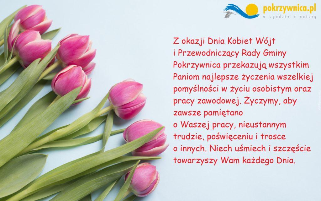 Kartka życzeniowa dzień kobiet
