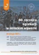 Zaproszenie na uroczystość – 80. rocznica zbrodni w wąwozie nad Narwią