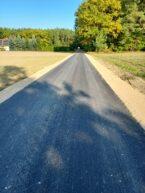 II etap przebudowy drogi gminnej relacji  Dzbanice – Gzowo zakończony